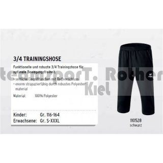 Erima Worker Trainings Pants 2.0  3/4 Trainingshose 110528