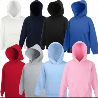 Fruit of the Loom Kids Premium Hooded Sweat F421K