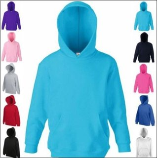 Fruit of the Loom Kids Classic Hooded Sweat F421NK