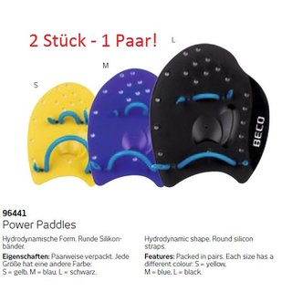 Swim Power Paddles