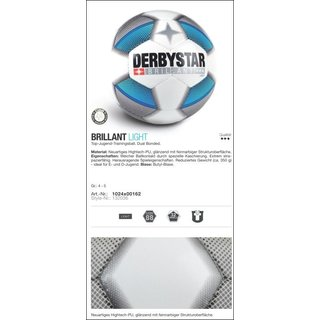 Derbystar Fußball Brillant  Light / S-Light